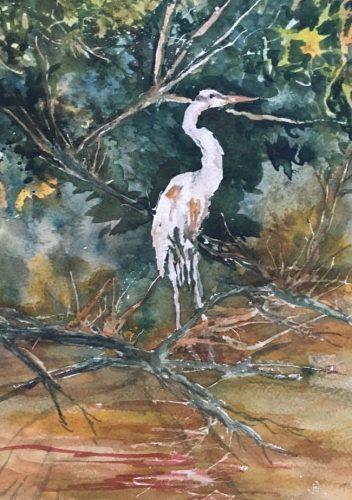 Claire Payne – Blue Heron